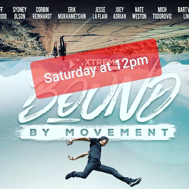 "🕐🚨Saturday Schedule!🚨🕐 . Thank you again for your quick and excited responses concerning our watch party for the Jesse La Flair ""Bound By Movement"" Film. . We want to celebrate all our members, your friends, and family so we will have NEW member and CAMP (Last Stuntman Camp next week) promotions available everyone who joins this event with us. . We will be hosting this event THIS WEEKEND (Saturday, August 3rd at 12pm noon) . 12 - 1pm Open play movie prep . 1pm - 2:30pm Movie time! (Intermission/bathroom break may occur) . 2:30 - 3pm Q & A about parkour shown in the film, techniques, etc. . 3pm - 8pm Open play FREE for everyone! . Food is welcome to make a day out of it for yourself or to share. . Please comment below ""I'll be there!"" if you haven't already and RSVP ""Going"" in our Facebook event (LINK IN BIO) so we can make sure to send you a reminder of event details! . We are excited to host this watch party with you all! 🍿"