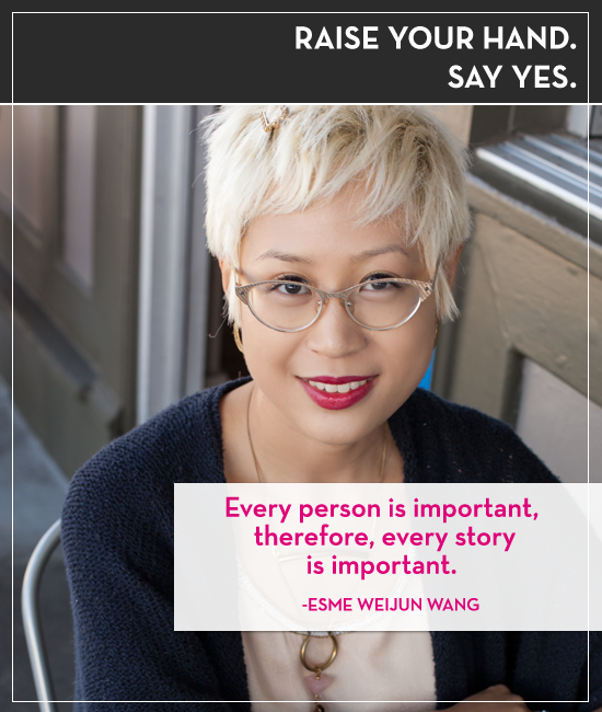 Esmé Wang on Raise your Hand Say Yes with Tiffany Han