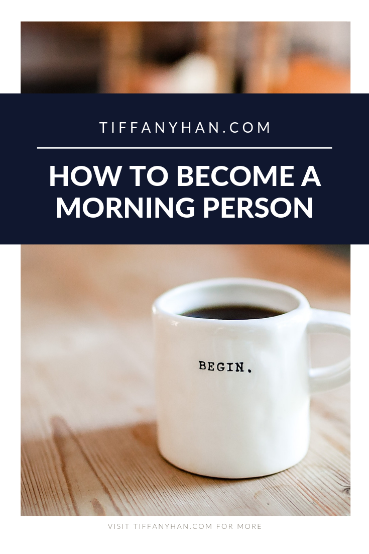 Wondering how to become a morning person? Want to change a habit that might change your life? Becoming a morning person isn't for everyone, but click through if you're looking for habit change tips that can help you break or build any habit you want!
