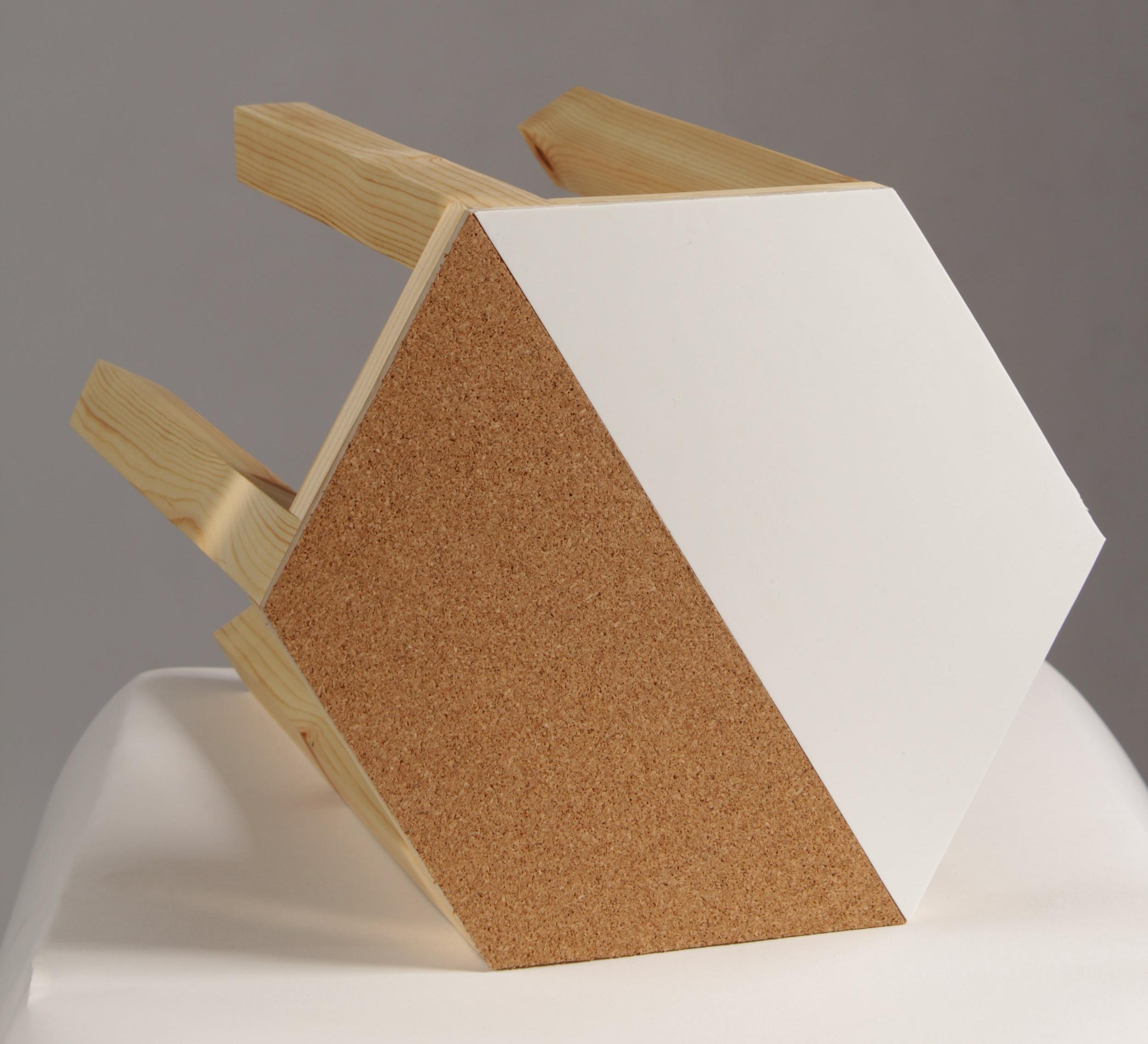 geometric side table 3 rebecca howson crane away