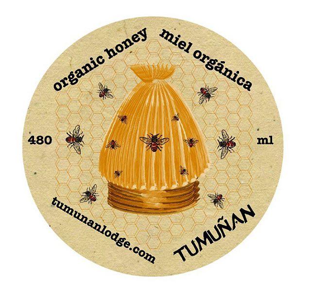 Label for Tumuñan honey (2014)