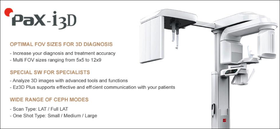 Vatech PAX i3d -Dental CT Scanner — Puget Sound Periodontics