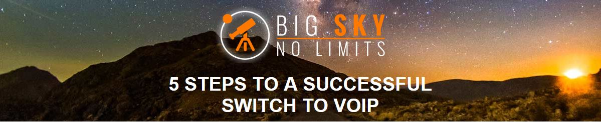 5 STEPS TO A SUCCESSFUL SWITCH TO VOIP