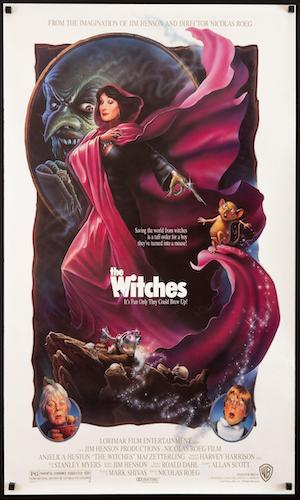 The Witches - Dir. Nicolas Roeg   imdb synopsis: A young boy stumbles onto a witch convention and must stop them, even after he has been turned into a mouse.