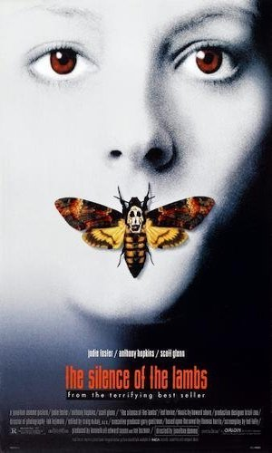The Silence of the Lambs - Dir. Jonathan Demme   imdb synopsis: A young F.B.I. cadet must receive the help of an incarcerated and manipulative cannibal killer to help catch another serial killer, a madman who skins his victims.