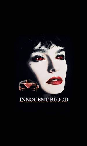 Innocent Blood - Dir. John Landis   imdb synopsis: Marie is a vampire with a thirst for bad guys. When she fails to properly dispose of one of her victims, a violent mob boss, she bites off more than she can chew and faces a new, immortal danger.