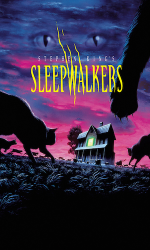 Sleepwalkers - Dir. Mick Garris   imdb synopsis: A mother-and-son team of strange supernatural creatures move to a small town to seek out a young virgin to feed on.