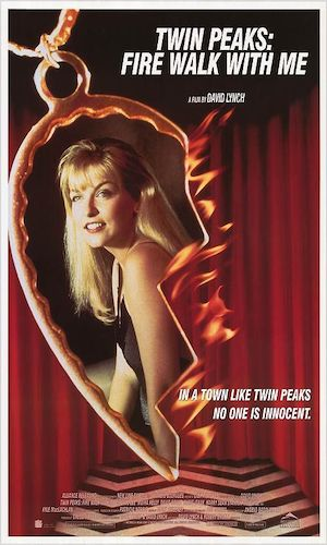 Twin Peaks: Fire Walk With Me - Dir. David Lynch   imdb synopsis: A young FBI agent disappears while investigating a murder miles from Twin Peaks that may be related to the future murder of Laura Palmer; the last week of the life of Laura Palmer is chronicled.