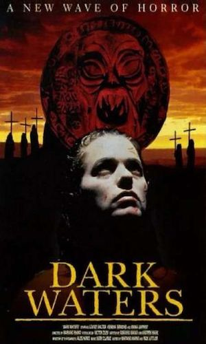 Dark Waters - Dir. Mariano Baino   imdb synopsis: A girl travels to an island, after the death of her father, to find out why the father funded a monestary on the island.