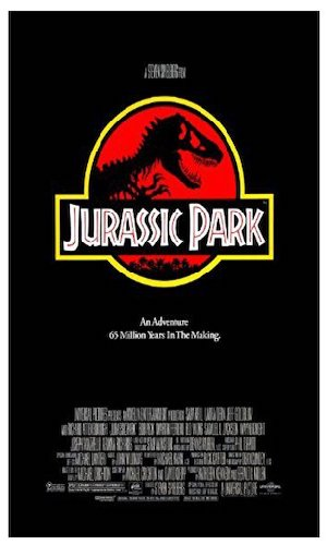 Jurassic Park - Dir. Steven Spielberg   imdb synopsis: During a preview tour, a theme park suffers a major power breakdown that allows its cloned dinosaur exhibits to run amok.