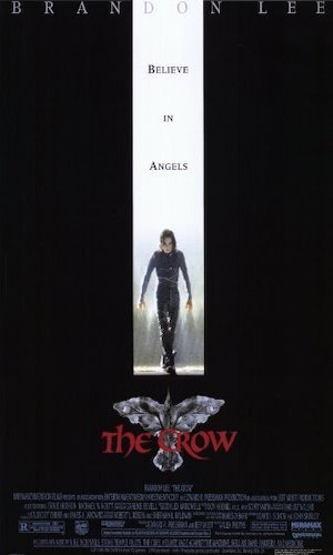 The Crow   - Dir. Alex Proyas   imdb synopsis: A man brutally murdered comes back to life as an undead avenger of his and his fiancée's murder.