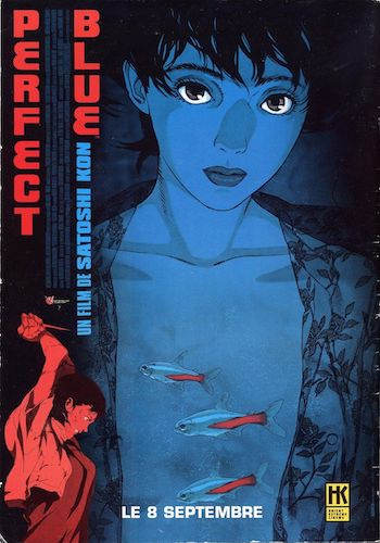 Perfect Blue - Dir. Satoshi Kon   imdb synopsis: A retired pop singer turned actress' sense of reality is shaken when she is stalked by an obsessed fan and seemingly a ghost of her past.