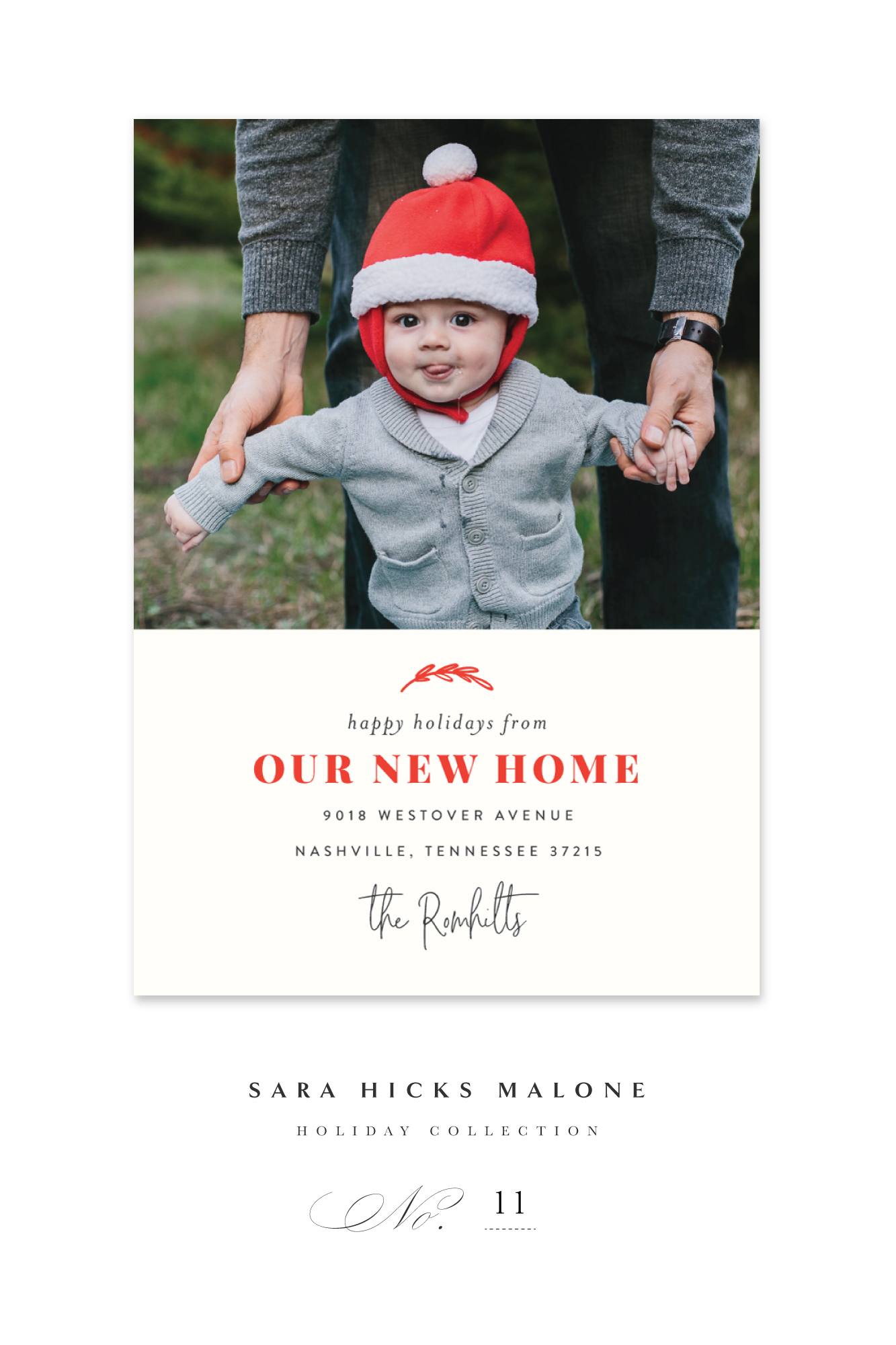'OUR NEW HOME FOR THE HOLIDAYS' BY Sara Hicks Malone