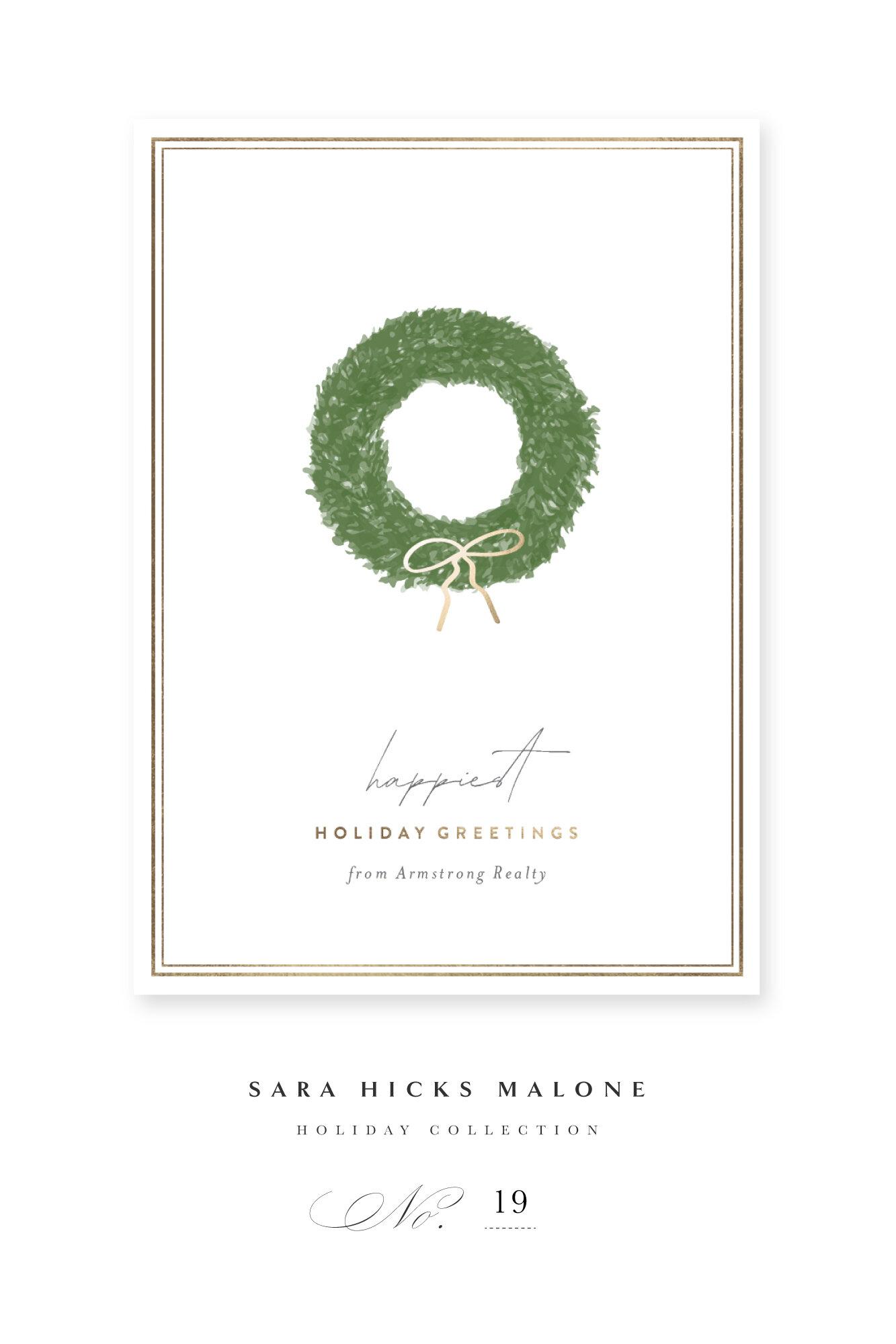 'SIMPLE WREATH' by Sara Hicks Malone