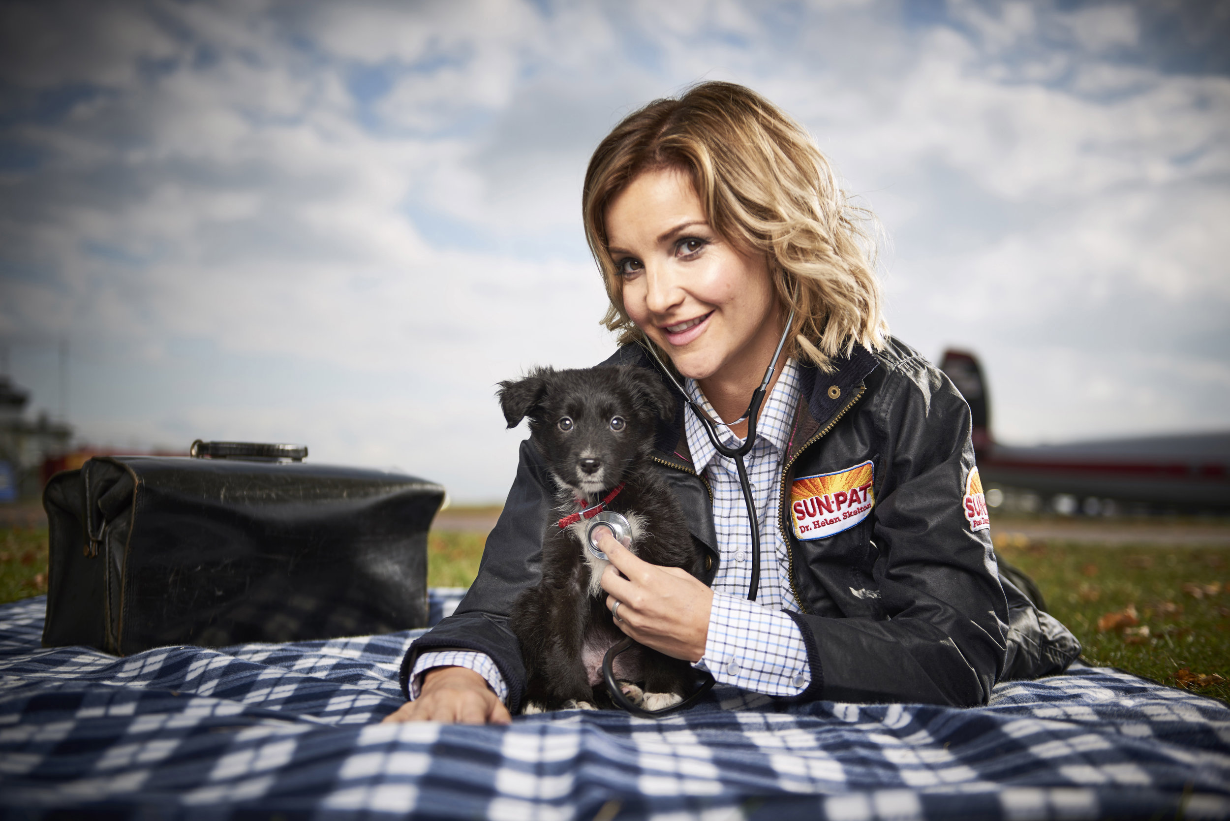 TV presenter Helen Skelton realises her childhood dream of being a vet as research by Sun-Pat Peanut Butter reveals that 4 out of 5 people who had an active childhood achieved their dreams.jpg