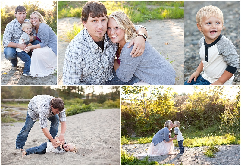 ( I did this for our session last year and they are some of my favorite photos I have of my family. I saw this pink flowy skirt online and knew I wanted it for our session.) Photo Credit :Kim Hayes Photography
