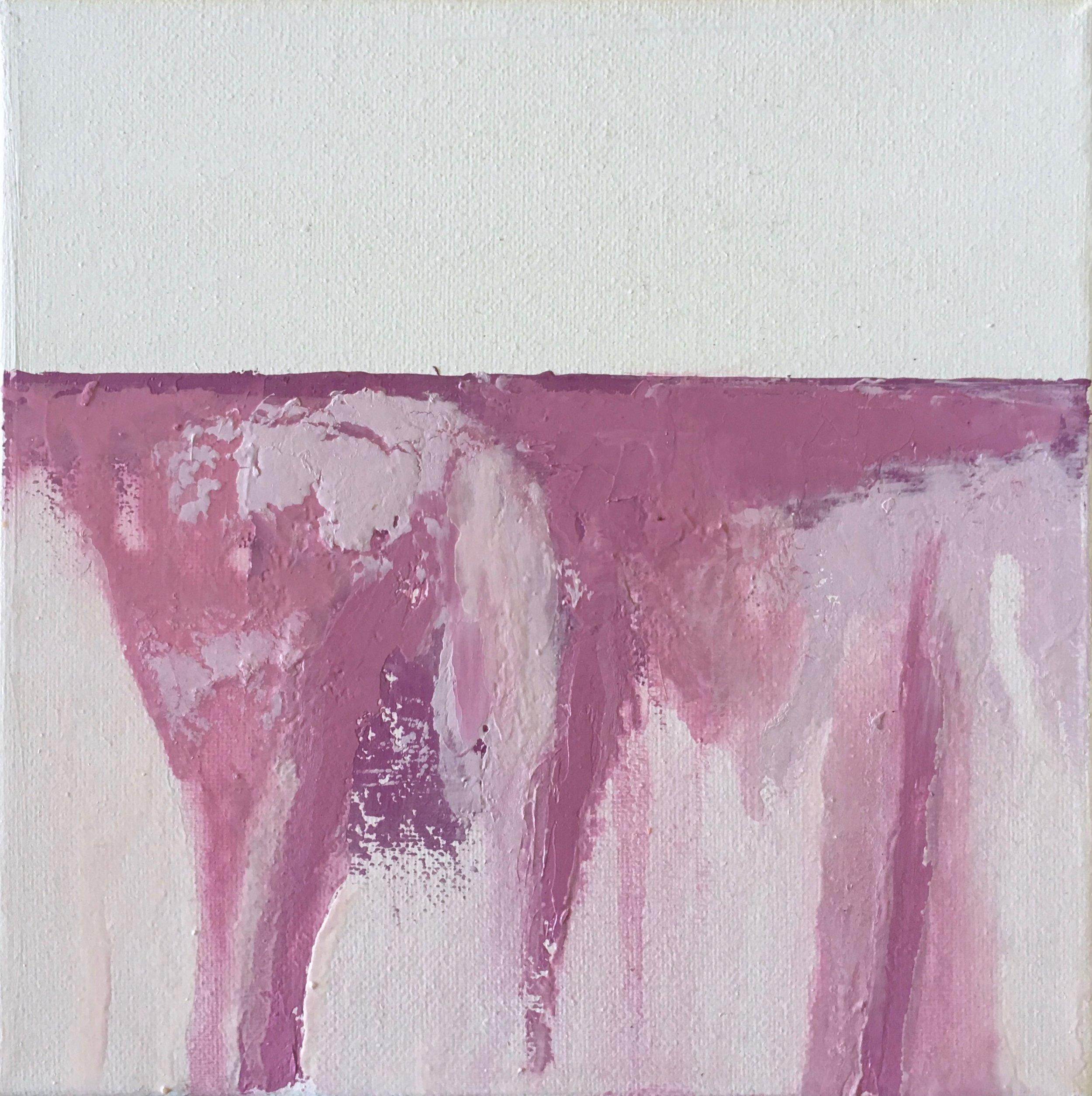 "Oil on Canvas   8"" x 8"""