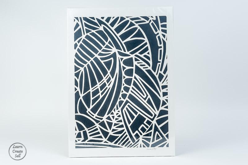 Paper- Custom Wallart Framed