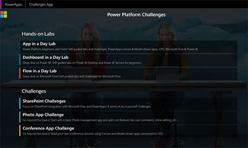 Power Platform Labs and Challenges - A collection of resources to continue learning about the Power Platform with.