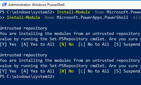 PowerApps and Flow Powershell Cmdlets for Creators and Admins - Now you can connect to PowerApps and Flow using Powershell