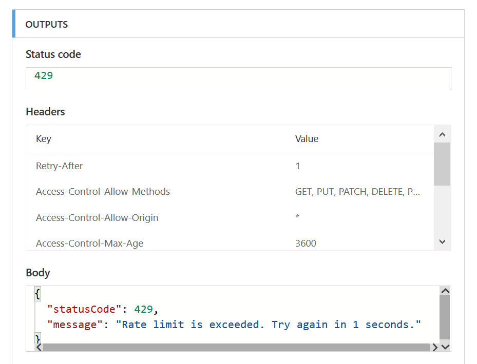 429 Error? Read On… - Use the MS Flow Retry Policy to help with this one.