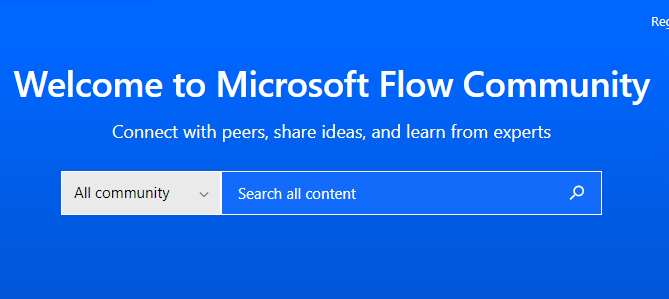 Get Connected with the MS Flow Community - Solve problems together.