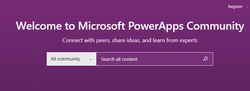 Join the PowerApps Community - Loaded with solutions and great people!