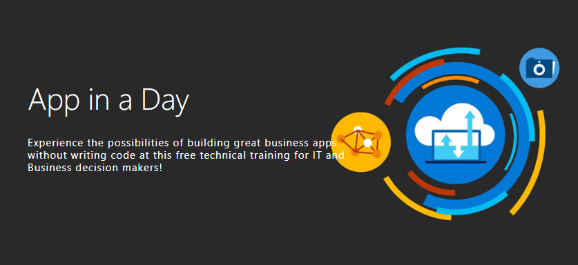 App in a Day Roadshow Events - New dates announced for this free event hosted by Microsoft.
