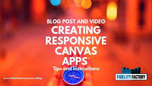 Learn all about how to create responsive canvas apps in this post and video.