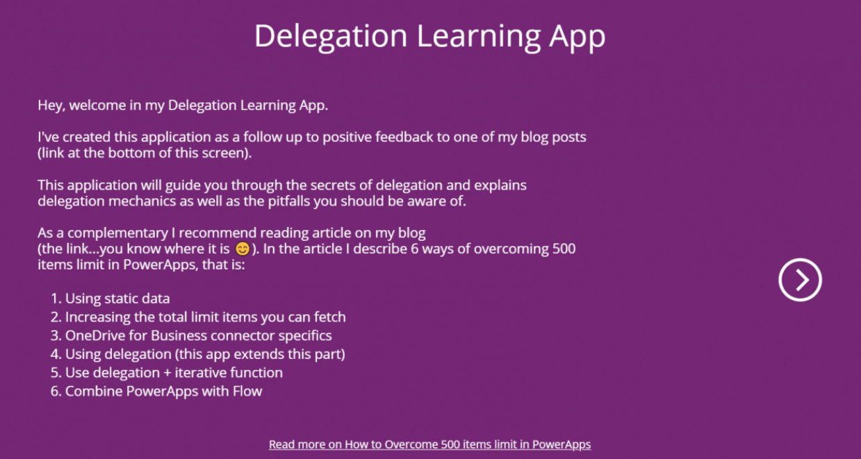 Delegation Learning App - Learn all about delegation with the Delegation Playground App