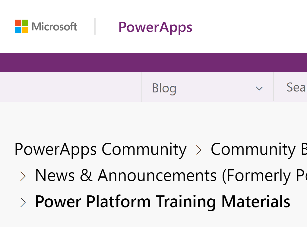 Bonanza! Power Platform Training Material - An absolute ton of Power Platform Learning resources