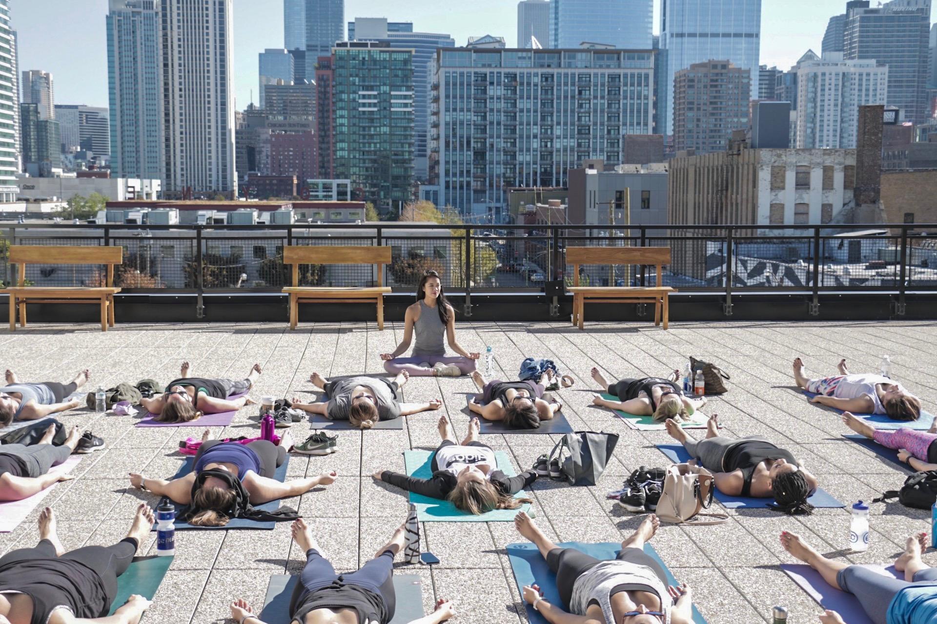 cat aldana yoga eat stretch nap meditation