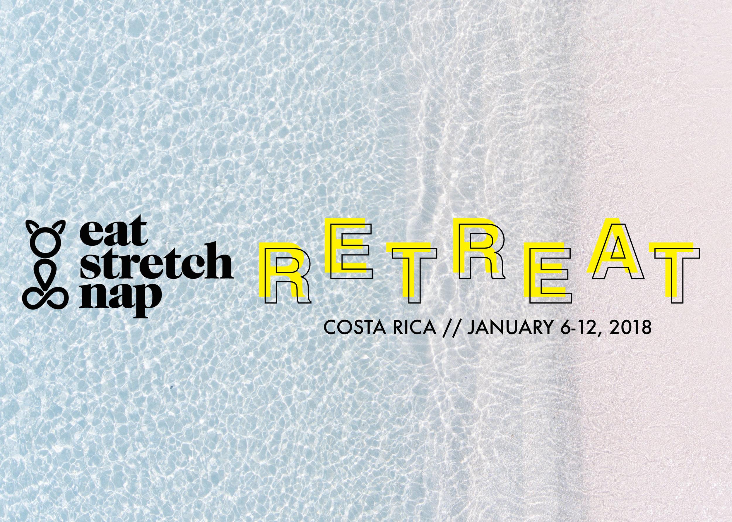 Eat Stretch Nap Retreat