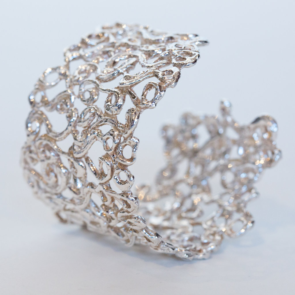 Ornamental Swirls Cuff