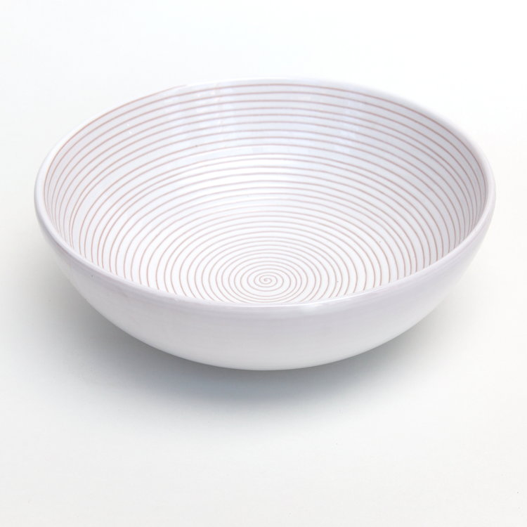 Graffito Swirl Serving Bowl