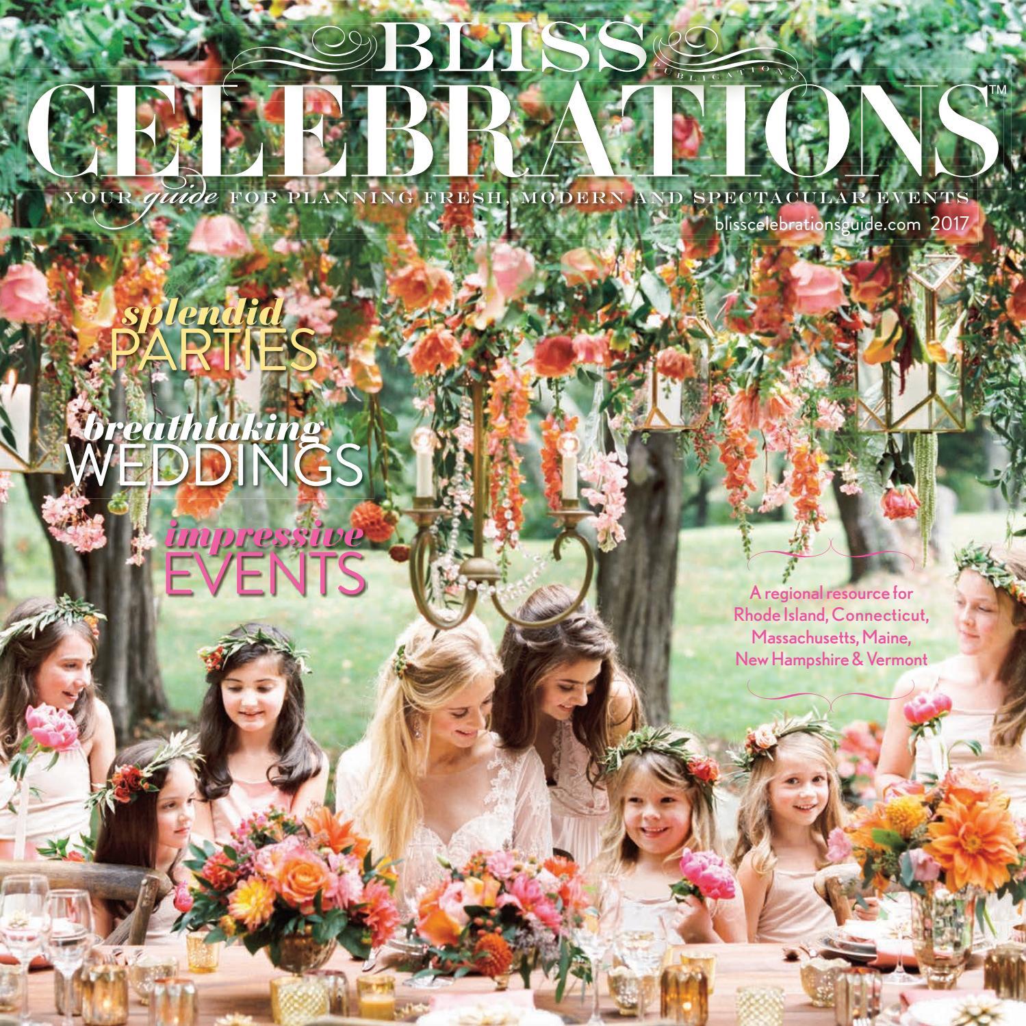 Bliss Celebrations Guide (2017)