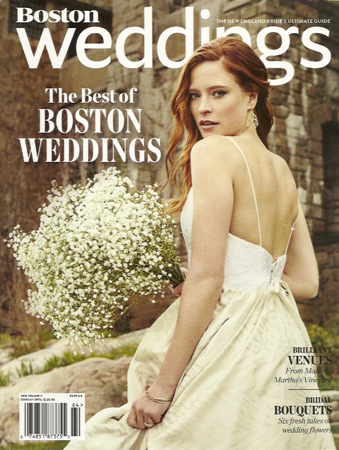 Boston Weddings (Fall/Winter 2016)