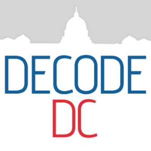 DecodeDC has a broad mandate: to help Americans understand how crucial political issues affect everyday life. We do this by using every narrative tool we can – from podcasts to analysis to interactive graphics and video.  We want to be a reliable, honest and, when appropriate, highly entertaining source of insight and explanation of Washington, D.C.'s people, culture, policies and politics, but mostly we want to be useful.  The podcast was launched by Andrea Seabrook, long-time Congressional Correspondent at NPR, in 2012 and is produced weekly in the Scripps News Washington Bureau.