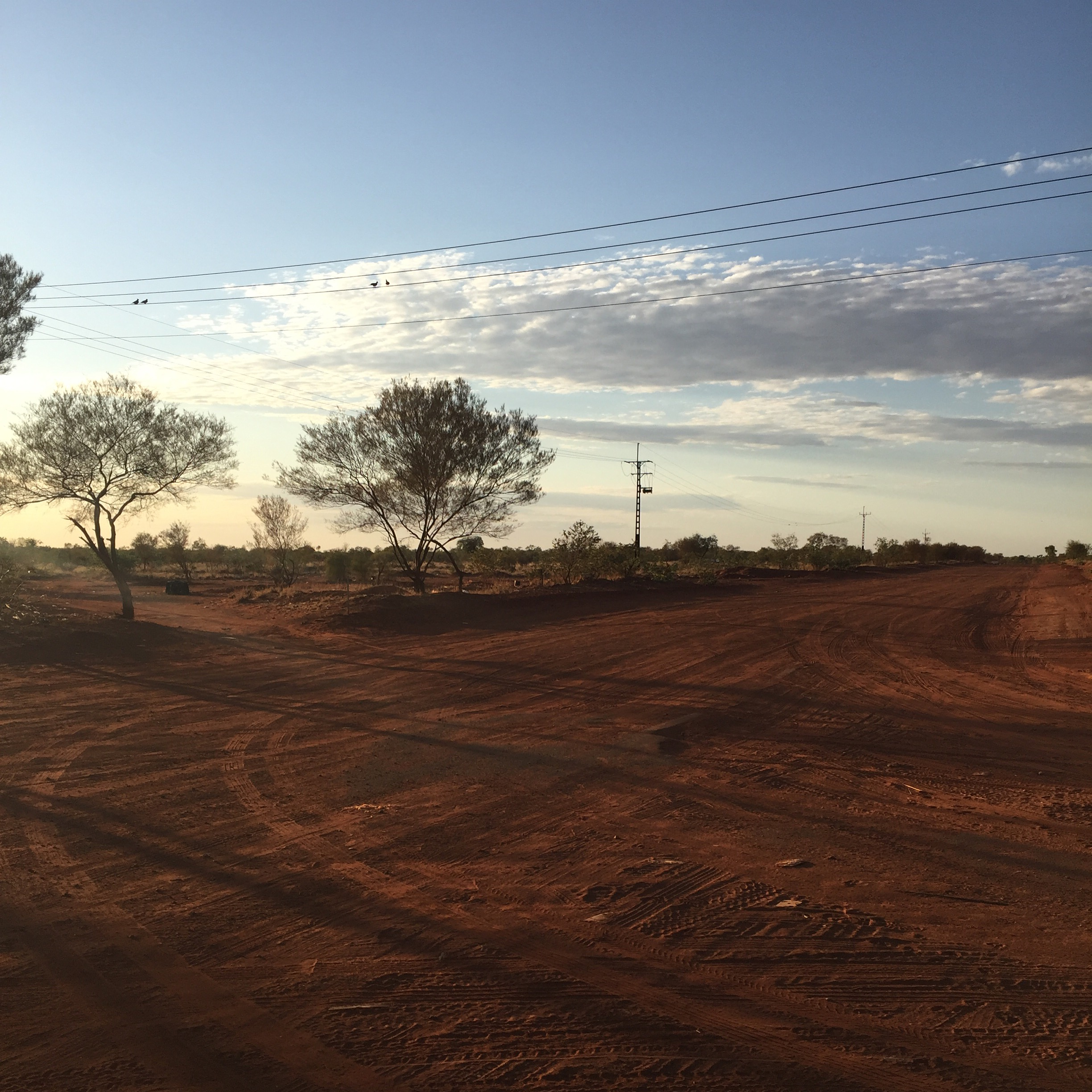 Early morning, Ampilatwatja, NT