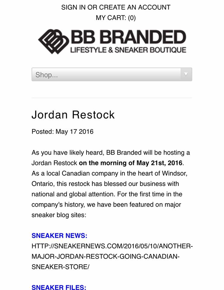 BB Branded teased us for weeks of a massive restock to occur on May 21st.  What happened? Why was it canceled mere hours before it went live?