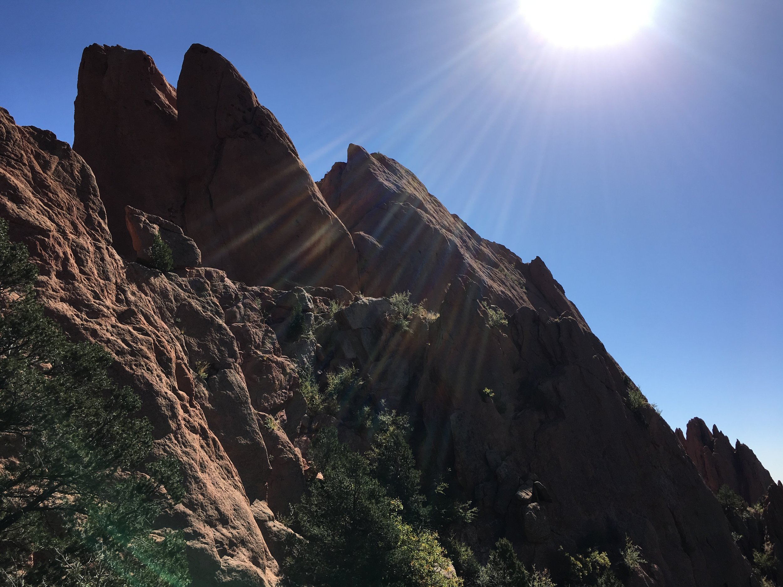 Leg 3, the third and final leg of my two-week adventure. Garden of the Gods, Colorado Springs, Colorado. October 2016.