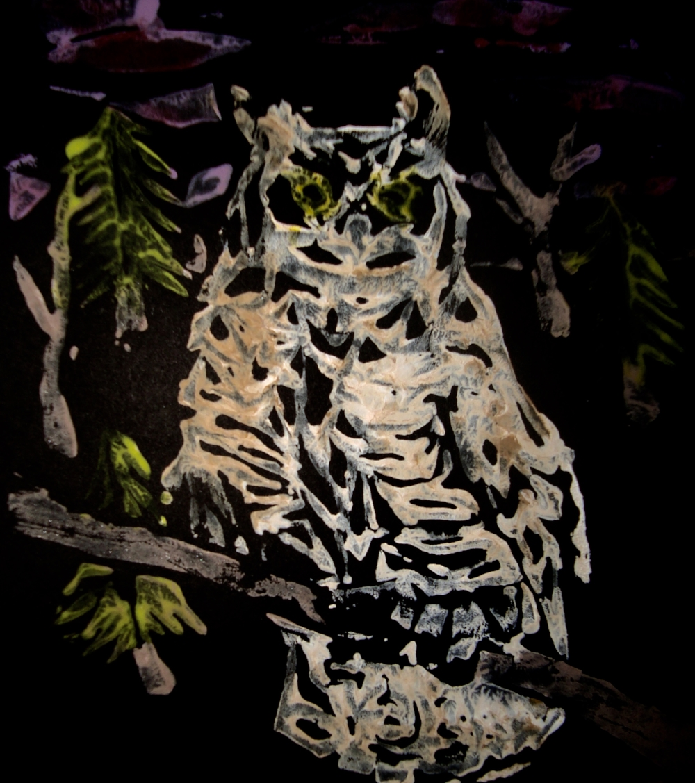 Great horned owl - 6