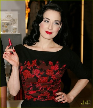I've gathered a lot of inspiration from Dita Von Teese