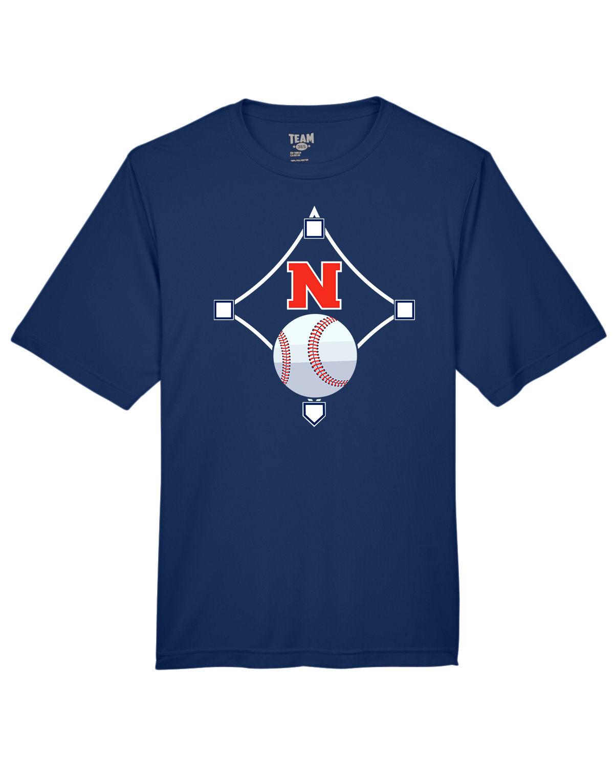 Navy Performance T-Shirt (Youth & Adult) - From $15