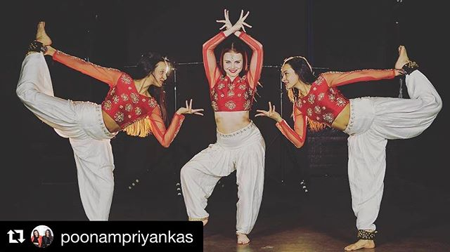 These amazingly talented dancers already have 5M+ views over the span of multiple video sources! Outfits by Shop Kinney  #Repost @poonampriyankas ・・・ Uploaded this a week ago on Facebook/YouTube and it's been getting so much love! So insane! Thanks everyone 💕 happy to simply create with and learn from an artist as amazing as @jajavankova 🙏🏽