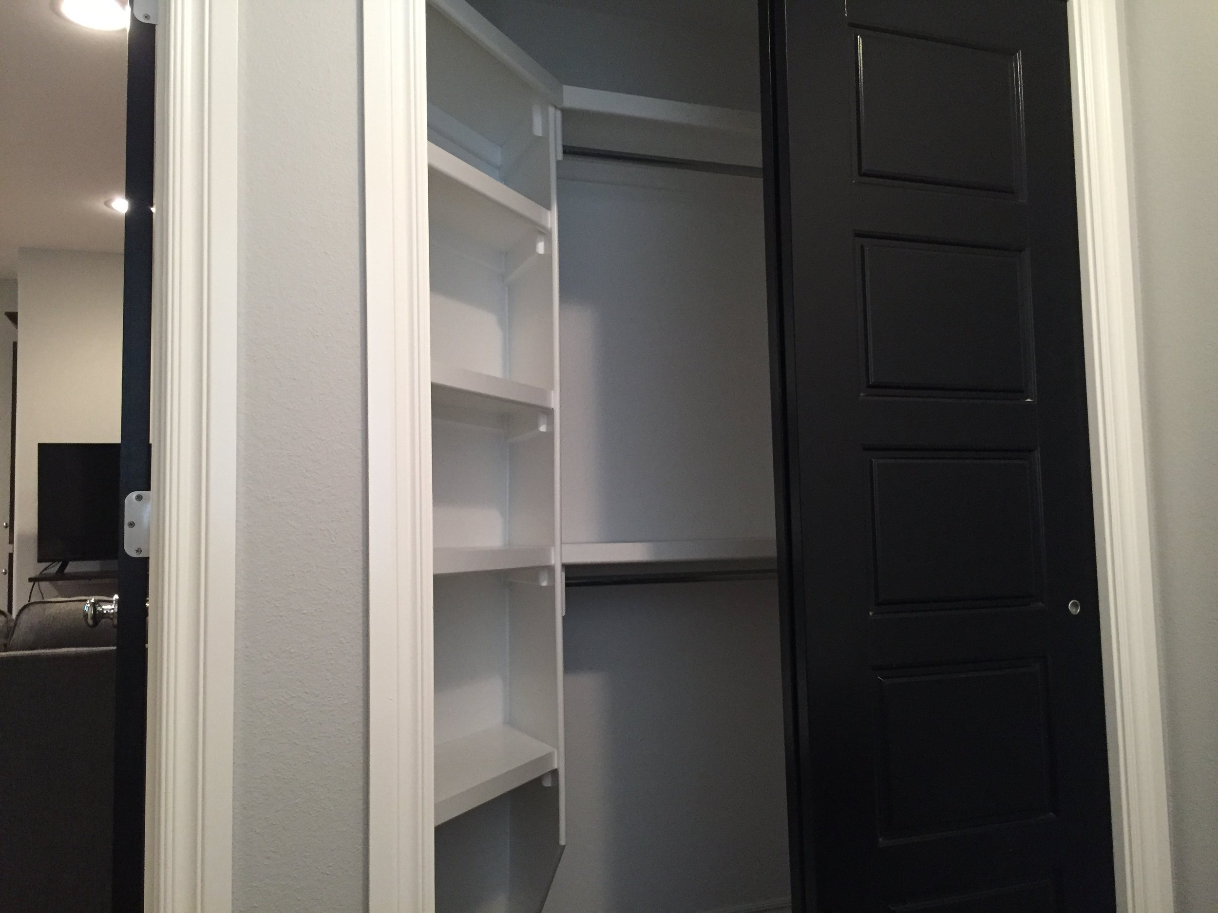 2nd floor bed closet
