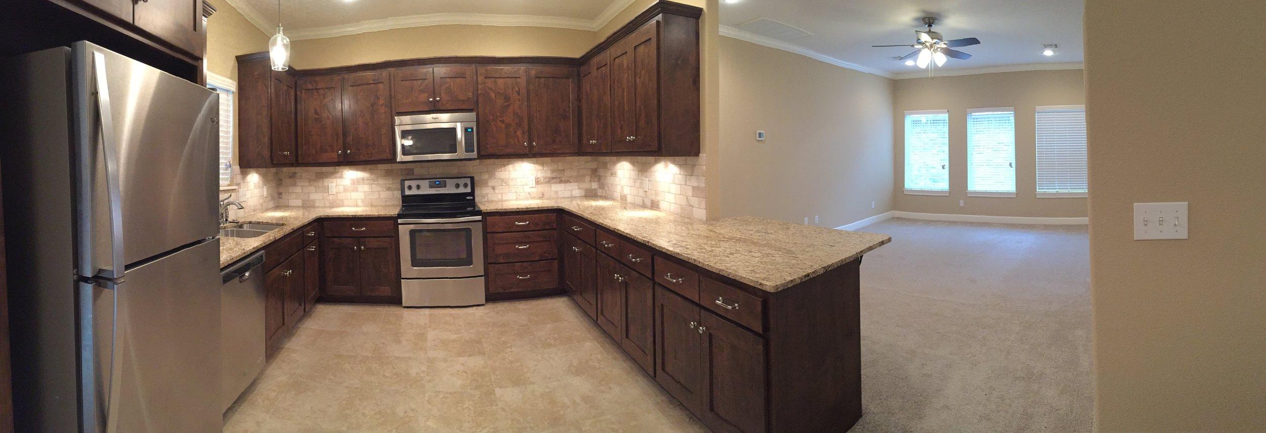 3420 Madison Kitchen Living