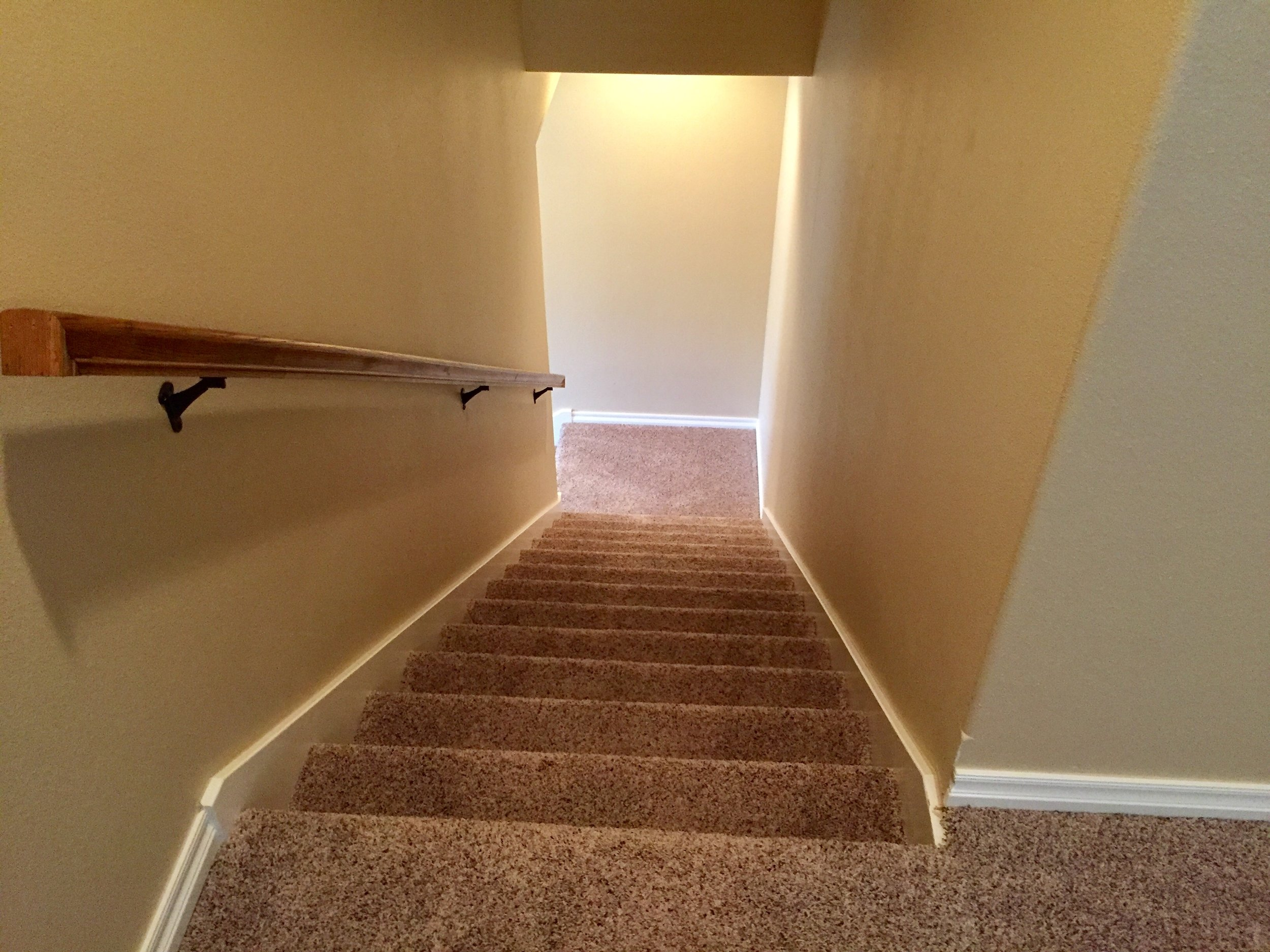stair looking down