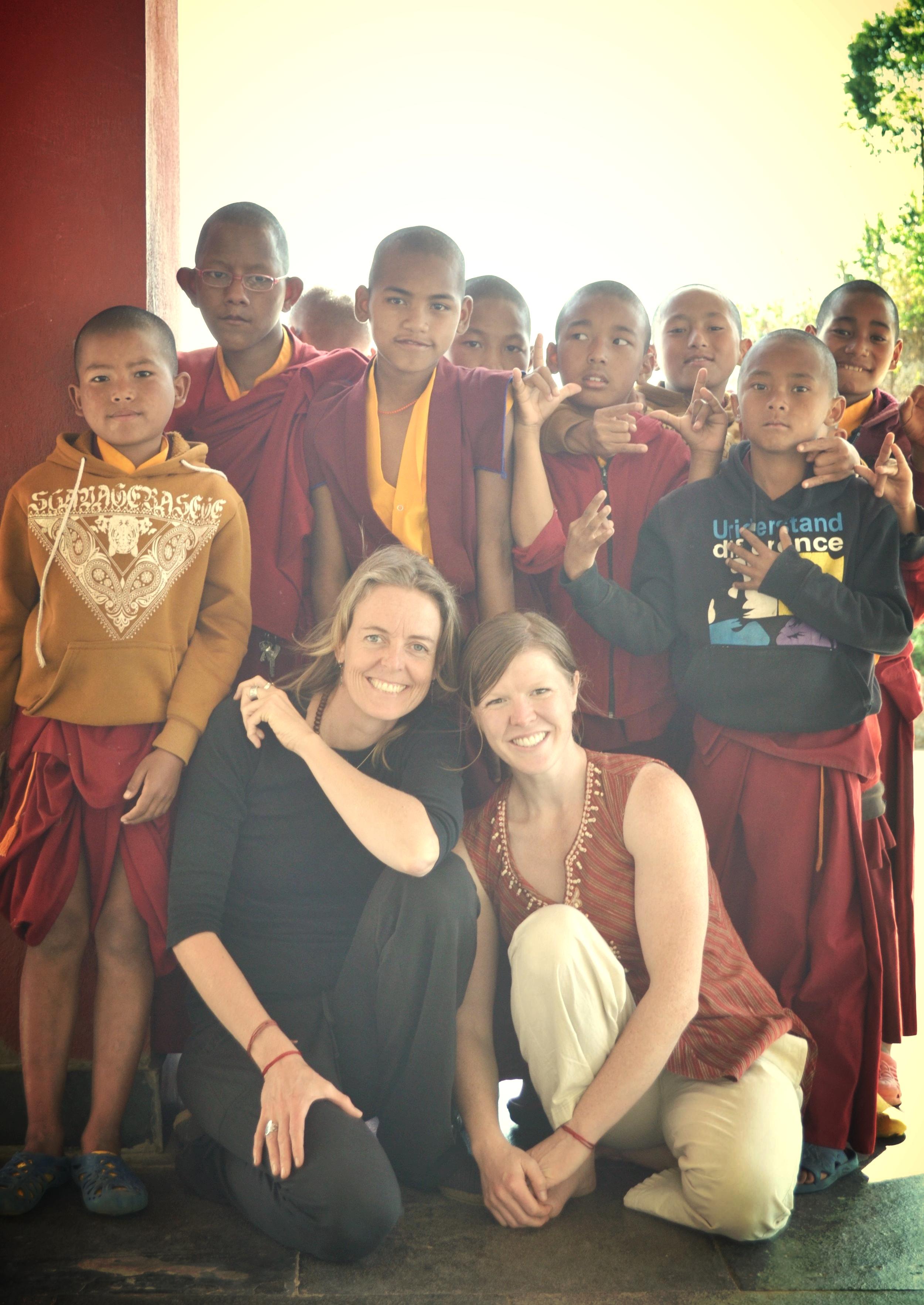 Annie Seymour in Kathmandu