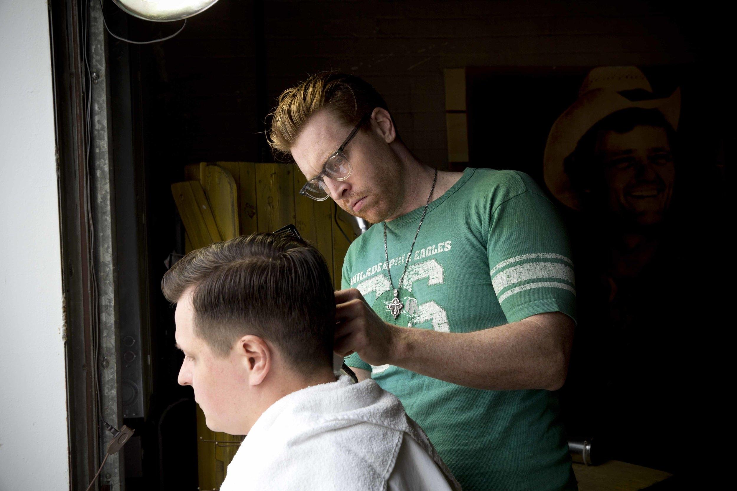 Morgans Haircut